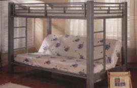 This is one of our most popular bunk over futon beds. Very solid.